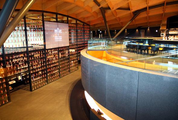 Das futuristische Besucherzentrum lässt kaum Wünsche offen. - Foto Karsten-Thilo Raab