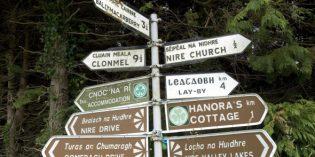 Phonetisches Irland – Hilfe durch sprechende Landkarte