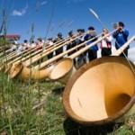 Alphorn-Festival im Wallis