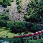 Bernina Express – von den Gletschern der Schweiz zu den Palmen Italiens