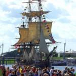 Bounty bei der Hanse Sail in Rostock