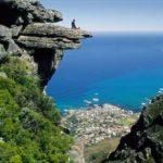 Eine Fahrt in den Himmel von Südafrika