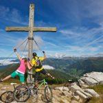 Per Rad zum Gipfelkreuz