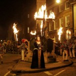 Heidnischer Brauch: Papstverbrennung im englischen Lewes