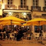 Kaffeekultur im winterlichen Lissabon