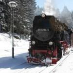 Dampfzugnostalgie im winterlichen Harz