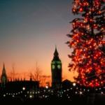 Weihnachtsstimmung an der Themse