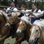 Ungwöhnliches Pferderennen: Oswald-von-Wolkenstein-Ritt in Südtirol