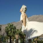 Marilyn Monroe gibt sich in Palm Springs die Ehre