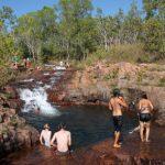 Erfrischender Badespaß mit Kängurus – der Litchfield National Park