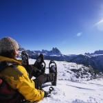 Auf Schneeschuhen von Hütte zu Hütte im verschneiten Hochpustertal