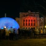 Die lettische Metropole Riga wird zum Lichtkunstwerk