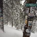 Aspen einmal anders: Skifahren zu Elvis, Marilyn & Co.