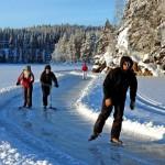 Auf Schlittschuhen durch Finnland