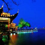 Chinas Festivalmetropole Hangzhou in Feierlaune