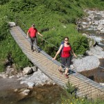 Wandern, wundern, wiederkommen: der Naturpark Lech Zürs am Arlberg