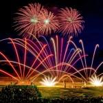 Barocker Garten als Bühne für Feuerwerkskunst