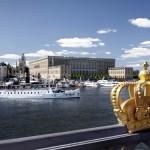 Stockholm putzt sich für die nächste royale Hochzeit heraus
