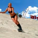 Sandskifahren – rasantes Vergnügen in der Pfalz