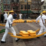 Holländische Käsemärkte sind eröffnet