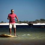 Stand Up Paddling für den guten Zweck am Panama City Beach in Florida