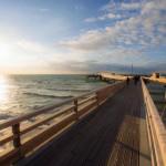 """Spaziergang auf dem Meer an der """"OstseeSpitze"""""""