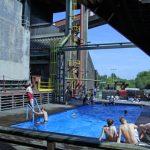 Abtauchen auf Zollverein: Schwimmspaß im Weltkulturerbe der UNESCO