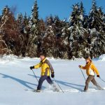 Winterliches Vergnügen der besonderen Art: Schneeschuhwandern in Sankt Englmar