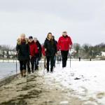 Die Lübecker Bucht – maritimes Ziel für Nordic Walker auch in der kalten Jahreszeit