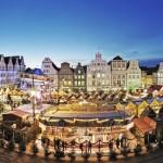 Sanddornpunsch zum Meeresrauschen: Größter Weihnachtsmarkt Norddeutschlands in Rostock