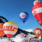 Wiener Walzer am Winterhimmel: 19. Internationales Ballonfestival im Tannheimer Tal