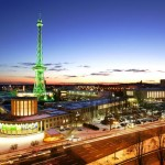 Berlins 55 Meter hoher Funkturm geht online