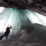 Den Wasserfall hinauf: Eisklettern in Eidfjord