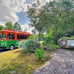 Kostenloser Trolley-Bus zu Miamis Nationalparks