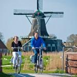 Weltrekordversuch in Friesland: Längste E-Bike-Kette der Welt angestrebt