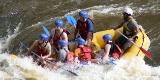 Rasanter Nervenkitzel auf wilden Wogen – White Water Rafting in West Virginia