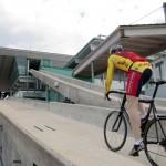 Bobbahn wird zur Rennstrecke für Radfahrer