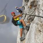 In Ramsau: Erster Klettersteig-Schein der Alpen