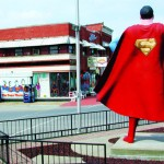 Metropolis zelebriert großen Kult um den Comichelden: Superman lebt in Illinois