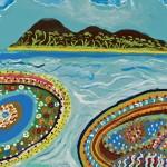 Aborigines zeigen ihre Kunst und Kultur