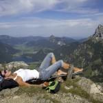 Wanderwege für Genusswanderer, Alpinisten und Pilgerim Tannheimer Tal
