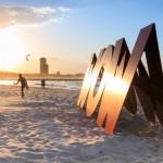 Skurrile Strand-Skulpturen an der Gold Coast