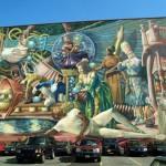 Philadelphia feiert seine riesigen Wandmalereien