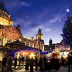 Wikinger-Weihnachtsmännern und Straußen-Burger in Dublin und Belfast