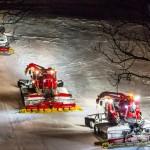 Mit dem Pistenbully in Tirol auf großer Fahrt