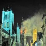 Lichtfestival hüllt Gent in viele prächtige Farben