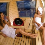 Finnland einmal anders: Schwitzen hoch überm Fjäll – Sauna-Spaß in der Gondel