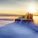 In Schwedisch Lappland ist der Weg das Ziel