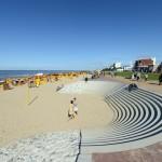 Cuxhavens neue Strandpromenade fertig gestellt