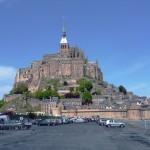 Mont Saint-Michel endlich wieder eine Insel